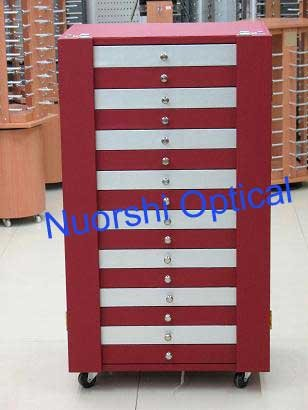 D106 glasses sample cabinet, spectacle presentation cabinet, sunglass display cabinet, 5 styles for options