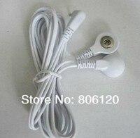 5 шт. / много DC 2, 5 мм 2 в 1 Глава электродные провода / кабель для цифровой терапия машина, десятки машин, массажер для похудения