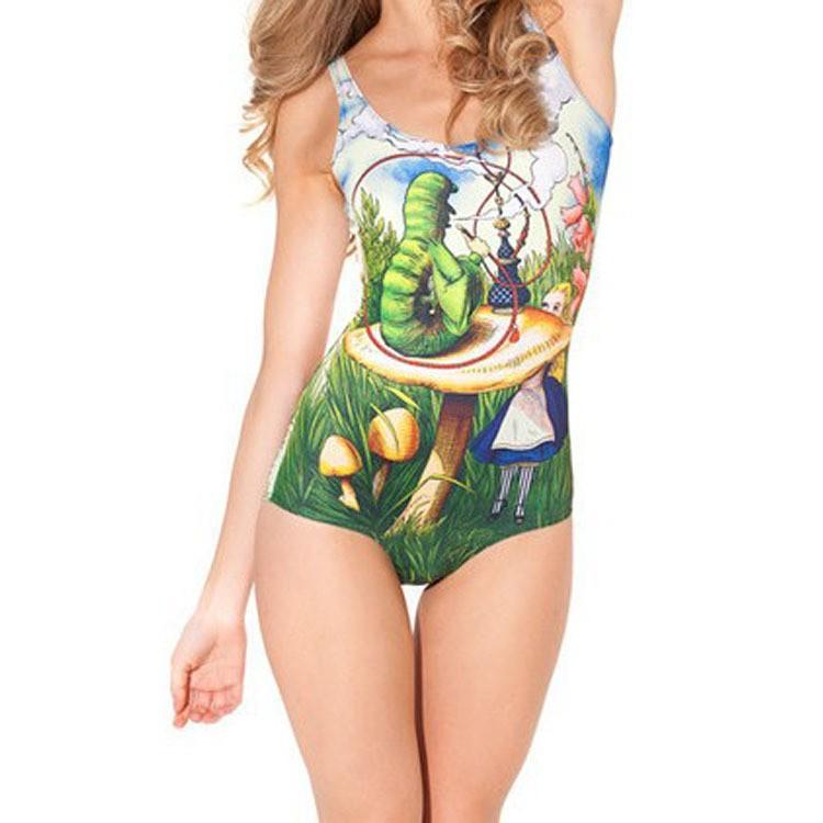 cel пара костюм женщины пара костюм Print пара па, распечатать большой червяк зеленый, размер, 1 шт. / много