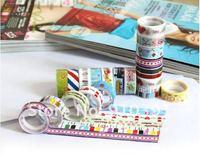 цвет печать лента, важная лента, украшение липкая лента, прорезиненные ткань, украшение пастер ас поставка канцелярских товаров