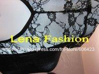 бесплатная доставка! горячая распродажа сексуальное мини платье с уравновешенное кружево, модное платье женское платье вечерние платья черный, оптовая продажа в розницу 043