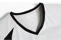 2015 новое поступление мужская с V-образным вырезом с длинными рукавами футболки удобный хлопок лайкра стрейч мужская футболка бесплатная доставка ыть-1224