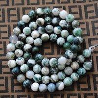 114 шт./лот, натуральная бамбук агат круг мяч, без тары бусины полудрагоценный и камень, размер : 10 мм