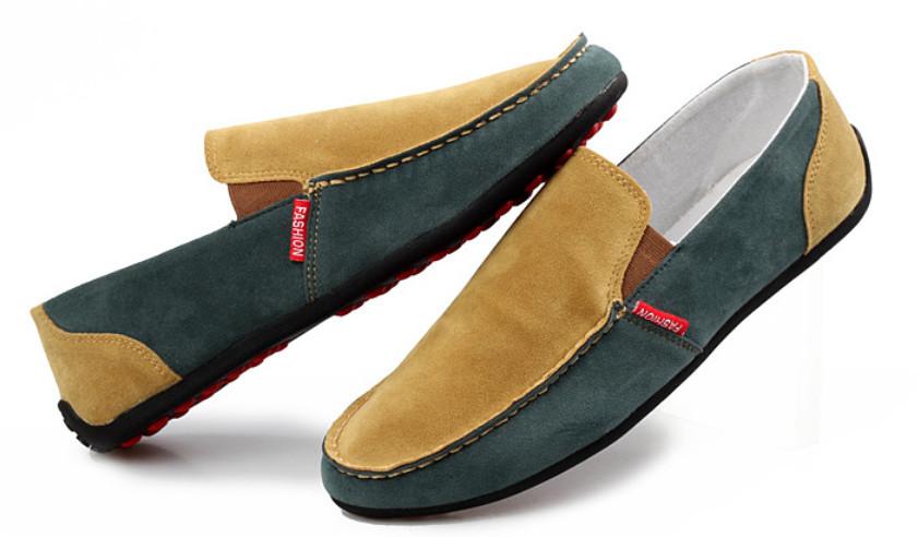 новый весна искусственная кожа досуг мужская туфли-мокасины уютный дышащий кроссовки оптовая продажа цена 1 пара