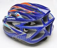 новое поступление седло цельным велоспорт шлем 23 отверстия велосипедов аксессуары 91598 синий - цвет оранжевый