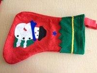 праздничные подарки большая красный носки лодыжки носок снеговик мешочек носки украшения деды морозы клаус чулок
