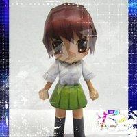 и день рождения подарок из 3D бумага модель из аянами Рей кукла игрушка своими руками бумага в 3D пазлы