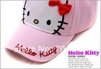 бесплатная доставка детей головные уборы, детская шляпы, милые киски шляпы Вт галстук бабочка дети бейсболка, подарок для детей