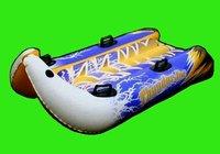 надувные пвх снег дашер нсс 9876, надувные водные виды спорта лодка, лодка форма 61 дюймов 2 место, горячая популярные игрушка