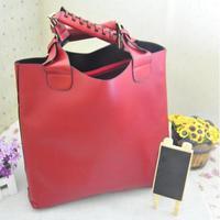 горячая западная женщин пр свободного покроя искусственная кожа трубки сумка мешок сумочка 3 цветов a1711