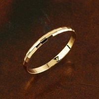 новое качество 18kgp желтое золото кольца, есть бесплатная изысканный подарок коробка