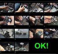 универсальный высокое качество металла переключения передач / руководство авто рукоятка рычага переключения передач / ручной рукоятка рычага переключения передач