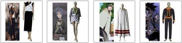 Cheap Anime Naruto Cosplay - Apparel Naruto Akatsuki Kakuzu Cosplay Costume Set Free Shipping 8