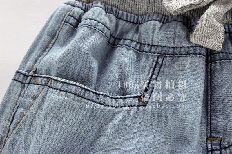 бесплатная доставка новый 100% хлопок теплый детская джинсы для летние брюки. девушки джинсы детская одежда