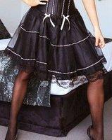 кружево мини юбка черный пак Seal женское бел 8509