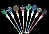 светодиод красочные мошенничество палочка лёгкие, бар / КТВ / танец залы поставки, из светодиодов красочные мошенничество палочка