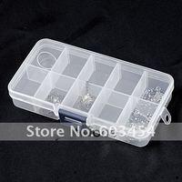 10-слот ювелирные изделия бусины дисплей организатор ёмкость чехол коробка / 1 шт