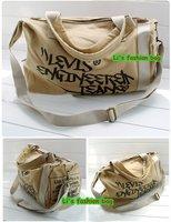 новый мужской черный холст посланник сумка