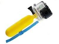 компания GoPro поплавок ручной серфинг и дайвинг для GoPro аксессуары поплавок плавающей ручной гриб вт/ремешок для GoPro герой/2/3