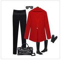 качество отлично, Европа стиль Doubt элегантный мода Chest вкус дамы синуса пальто