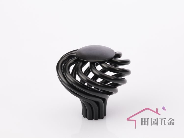Beau 30mm Single Hole Black Metal Birdcage Knob /cabinet Furniture Drawer Handle/  Door Knob MP 33 In Cabinet Pulls From Home Improvement On Aliexpress.com ...