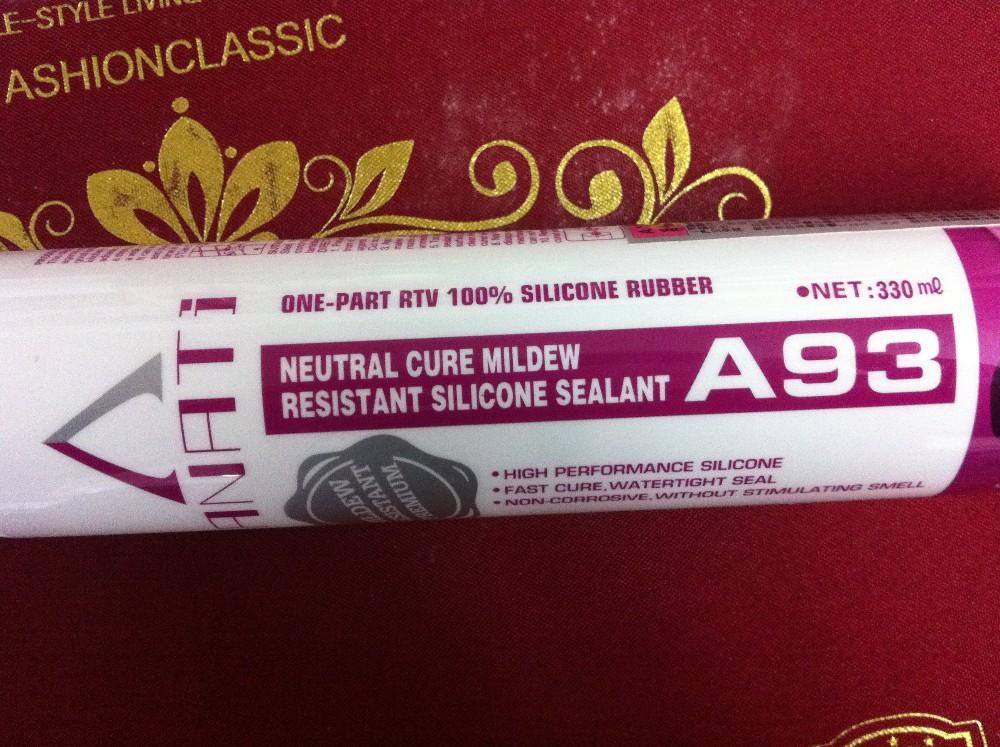 высокое качество нейтральный лечение силиконовый фунгицидный герметик