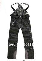 мужские брюки водонепроницаемые, походы зимние лыжные брюки на подтяжках