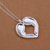 серебро 925 ожерелье женщины кулон ожерелье ожерелья и подвески ювелирные комплект