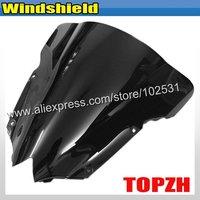 бесплатная доставка черный мотоцикл лобовое стекло лобовое стекло йамах и YZF 600 R6 в yzfr6 08 09 y376