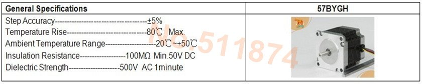 הספינה דה! Wantai 3 ציר Nema23 סרוו מנוע 57BYGH627 3א 78mm 270oz-+נהג DQ542MA 4.2 50V 128micro