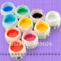 10 х неоновые цвета УФ гель ногтей установить бесплатная доставка