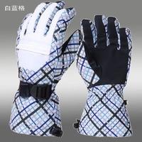 профессиональный мужчины и женщины из ла перчатки водонепроницаемый West на открытом воздухе теплые перчатки
