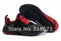 новый воздухопроницаемой набор три поколения мужская кроссовки черный и красный цвет 40-46