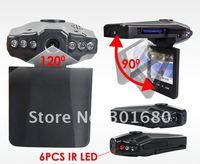 недорогой портативный автомобильный видеорегистратор с 6led от ночного видения, объектив 120 град. регистратор видеорегистратор супер, тем более