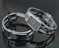 бесплатная доставка стоимость доставки массивной черной из нержавеющей стали роскошные украшения браслет женская наручные часы k97