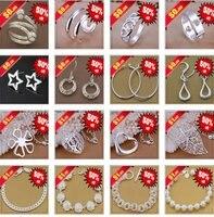 бесплатная доставка ювелирные изделия кристалл диско шары шамбалы ожерелье подвески цепочки 925 серебряное ожерелье ашва jkca стремно ш-p020