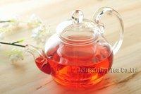 600 мл стекло кофеварка/чайник + 6 с двойными стенками чашки + теплее, хороший подарок, b206d, бесплатная доставка