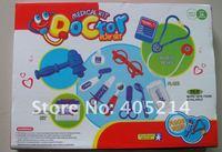 бесплатная доставка - 13 шт. / комплект за каждой игрушки для детей / ребенка семья игрушки / забавный врача комплекты / комплекты коробка