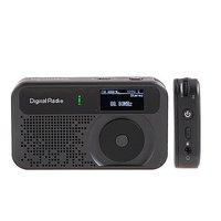 новый карманные мини в DAB + и FM радио с MP3-рекордер будильник даб радио бесплатная доставка