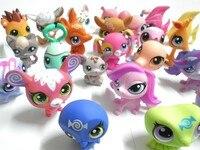 много 10 шт. маленьких лпс animasl широкий цифры коллекция игрушек бесплатная доставка