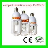 бесплатная доставка компактный лампочка индукционная лампа 18 вт 1440lm отделывают Е27 е40 белый / теплый энергосберегающие компактный свет - балласт лампы лвд