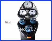 аккумуляторные мужские эпилятор бритва бритва мужские электрический водонепроницаемый моющийся 3 глав бритвенные лезвия бритвы тройка