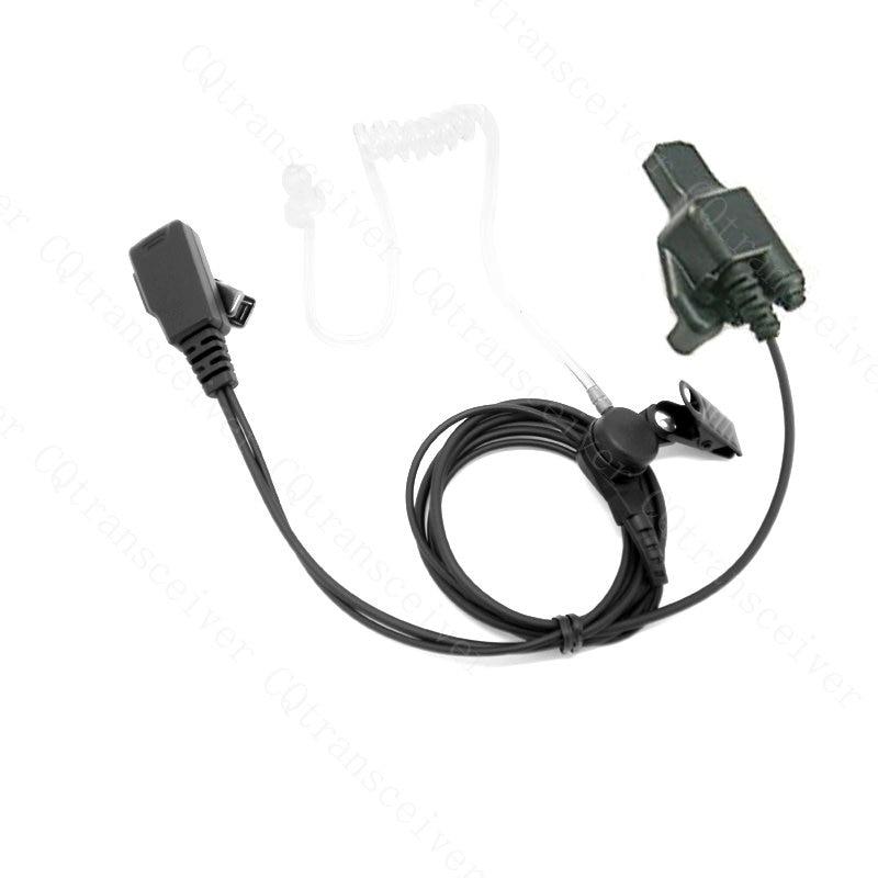 Police Headset Earpiece Mic for Motorola HT1000 GP900 XTS2500 XTS1500 XTS5000