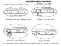 специальный автомобиль заднего вида камеры заднего хода камера заднего вида для Шкода Октавия с доказательства воды, номера широкая, 170 градусов
