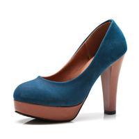 бесплатная / прямая поставка мода на высоких каблуках коренастый платформа туфли на высоком каблуке для женской обуви женщина рим свободного покроя девочек весной scx02480