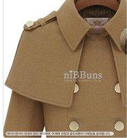 Особое звезды плащ накидка пальто куртка с юбка тип, верблюда или тёмно-синий цвет / ветер пальто / одежда женщины, модный пальто