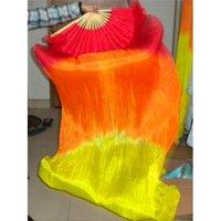 цвета танец живота вентиляторы, шелковый с веером по пара, шелковый