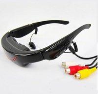72 дюймов видео очки + 4 гб памяти + AV-в + с DHL бесплатная доставка