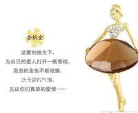 бесплатная доставка оптовые мужчины/женщины/девушки мода кристалл Bosh ядер девушка ballerina Bosh