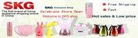 оптовая продажа - известный бренд скг электрический отопление LAN-Box коробка с ru и многофункциональный сухой рис Rise скг-01 розовый бесплатная доставка